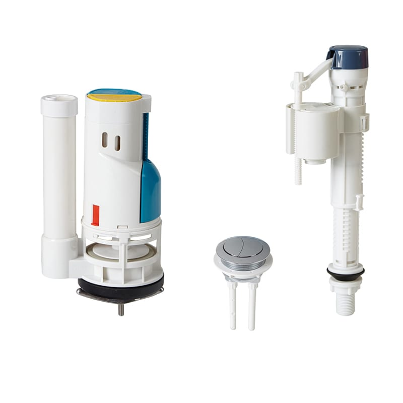 Anti-Syphon Toilet Dual Flush Valve For Ceramic Toilet OEM / ODM Available