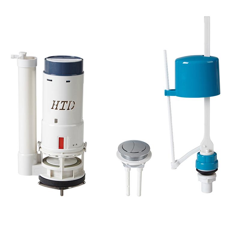Siphon Dual Flush Valve Toilet Tank Side Entry Fill Valve Toilet Parts