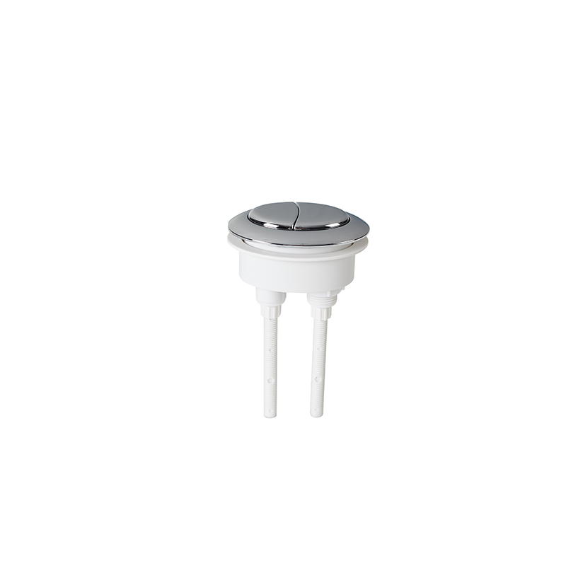 Universal Dual Flush Push Button Toilet Water Tank Oval Replacement