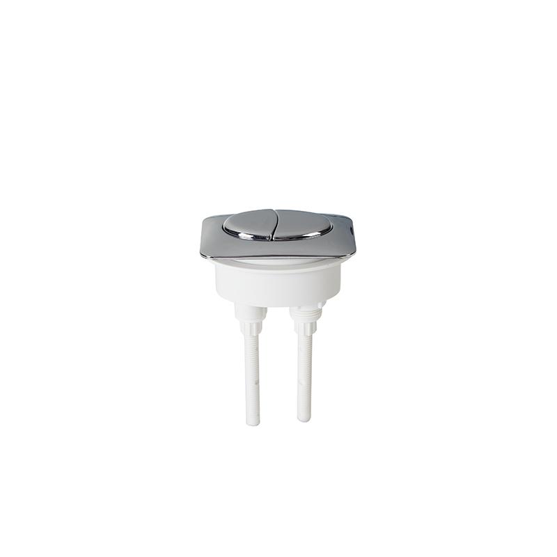 Replacement Chrome Dual Flush Button for WC Cistern Flush Valve