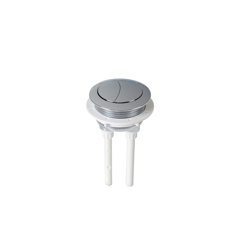 48mm Diameter Dual Flush Round Toilet Water Tank Push Button