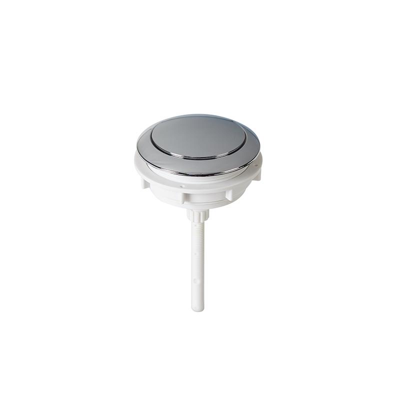 58mm Round Shape Single Flush Toilet Water Tank Push Button