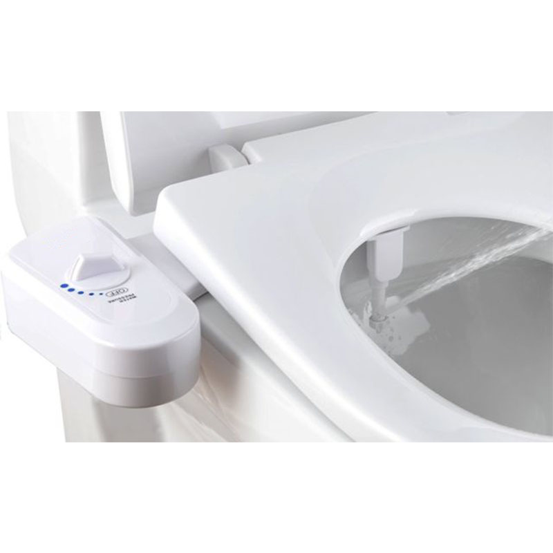 Fresh Water Spray Non-Electric Mechanical Bidet Toilet Seat Attachment