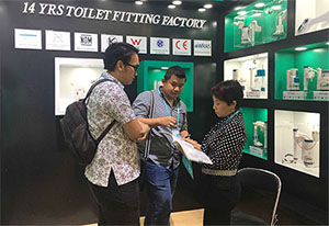 The 121st Canton Fair –HTD Bathroom Commode Parts