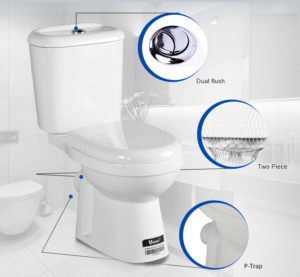 Why not replace dual flush valve for saving water but much cleaner?