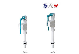 HTD-Seies B4 New Design Toilet Cistern Adjustable Bottom Entry Fill Valve