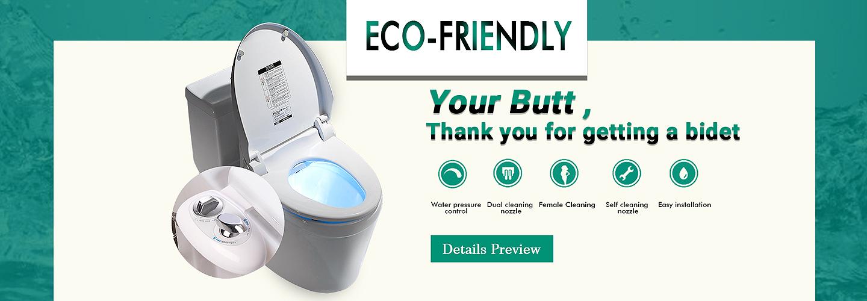 HTD Toilet Bidet Attachment