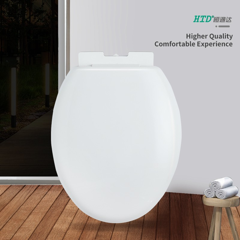 Quick Release Round Shape Soft Close PP Toilet Seat Cover