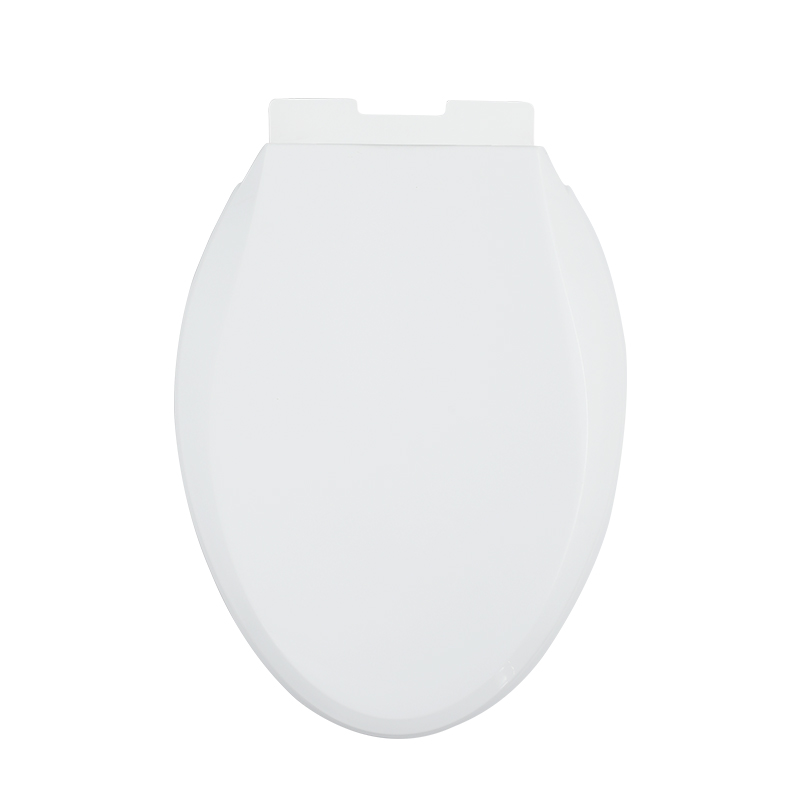 Soft Close Toilet Seat Cover PP White Elongated