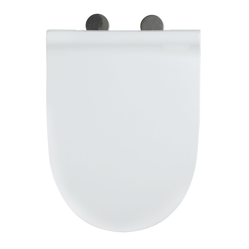 SS Hinge With One Button Elongated Seat Cover UF