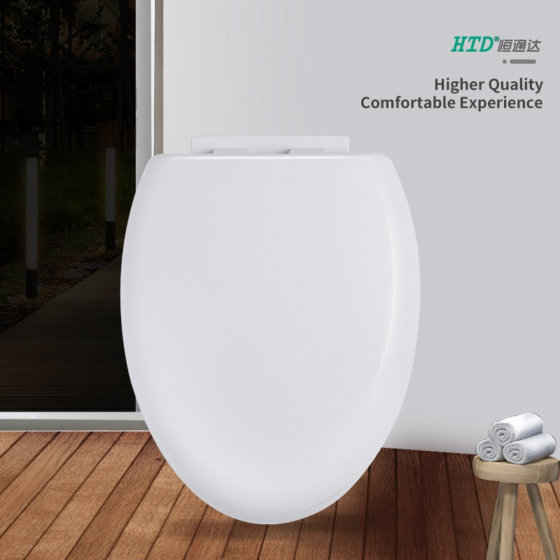 Elongated Toilet Seat Cover PP Soft Close