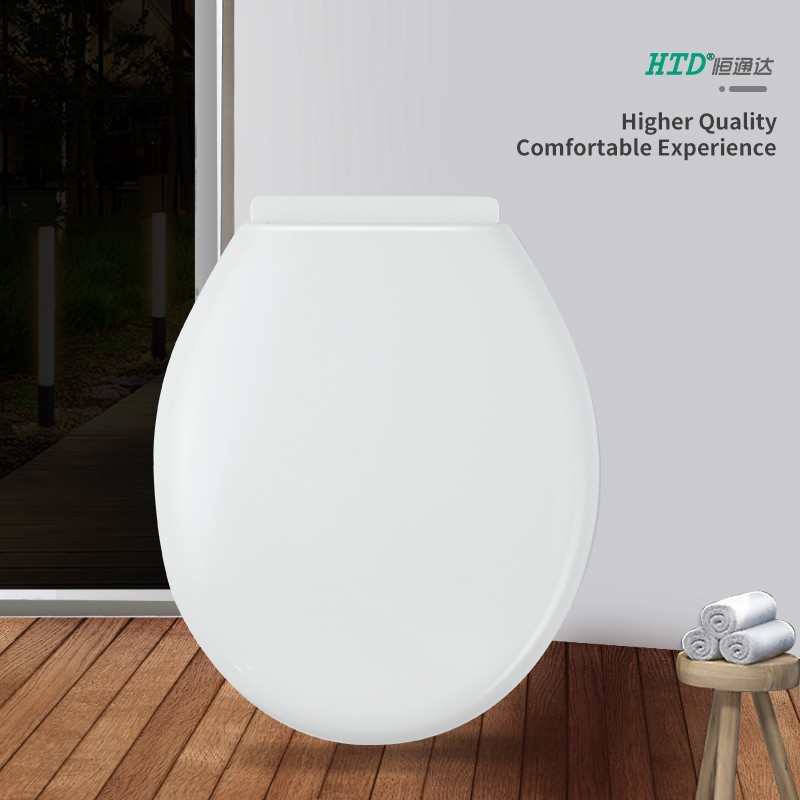 Toilet Seat Cover Round Shape PP Soft Close