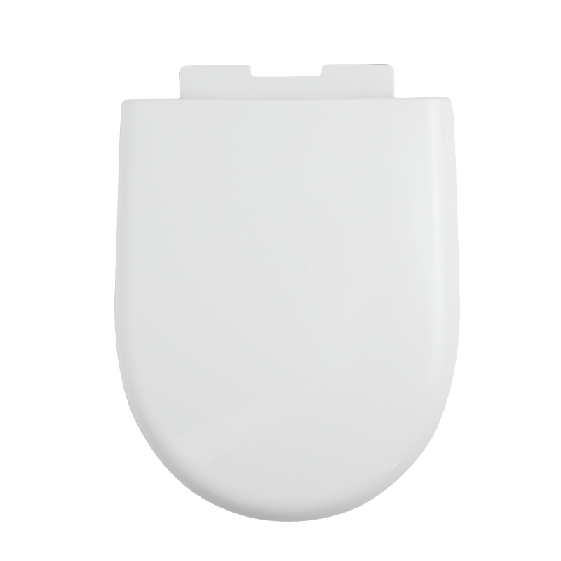 Toilet Cover Seat U shape White Soft Close PP