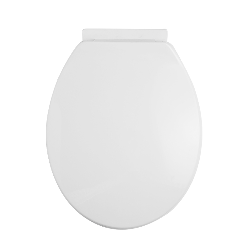 Toilet Seat Cover Replacement Round Shape PP Soft Close
